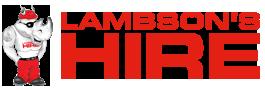 Lambsons Hire | Equipment Hire | Tool Hire Logo